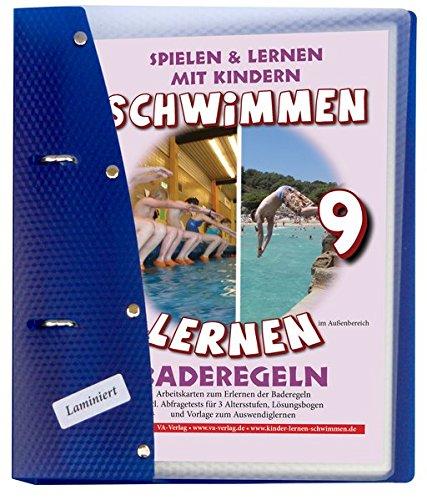 Baderegeln A5, laminiert (9): Schwimmen lernen (Schwimmen lernen - laminiert / Spielen & Lernen mit Kindern)