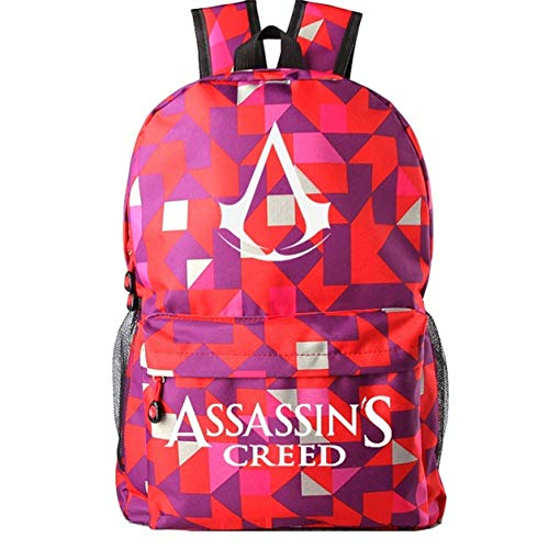 Augyue Rucksack für Assassin's Creed Cosplay mehrfarbig 1 Medium