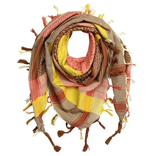 Superfreak Palituch - bunt-mehrfarbig 01-100x100 cm - Pali Palästinenser Arafat Tuch - 100% Baumwolle