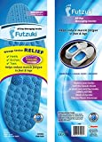 All-Day Massaging Foot Insoles for Men and Women, Shoe Insert for All Day Foot Relief, Stop Tired Achy Feet, Helps Circulation, Simple Trim to Fit