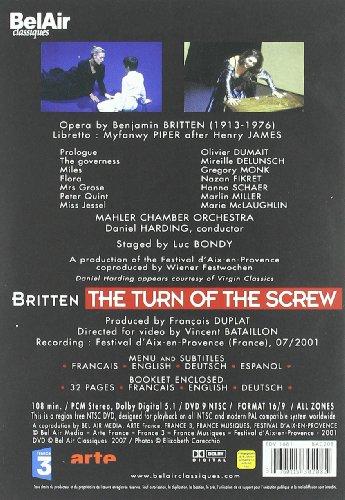 Benjamin Britten: The Turn of the Screw [DVD] [2001] [US Import] [2007]