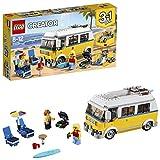LEGO- Creator Surfer Van Giallo, Multicolore, 31079