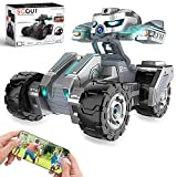 RC Cars Fast Remote Control Car with 720P HD Camera, 4WD WiFi FPV High Speed Gravity Sensor with Lights, AR Mode Electric RC Trucks 1:18 Versus Mode Car with Rechargeable Battery for Kids and Adults