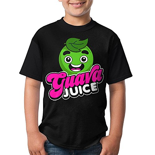 3DmaxTees Guava Juice Youth Personalized Short Sleeve Tee Shirt Comfortable T Shirt