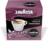 Lavazza A Modo Mio Eco Caps Coffee Pods Espresso, Lungo Dolce