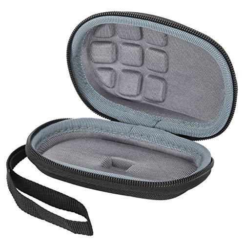Sxhlseller Estuche de Viaje para Mouse - Estuche de Almacenamiento Inalámbrico para Mouse EVA Caja Protectora Portátil Impermeable para Logitech M275 M330