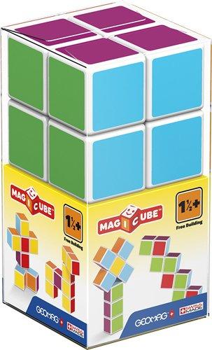 Geomag 00127 Magiccube Free Building 8 Würfel, Multicolor