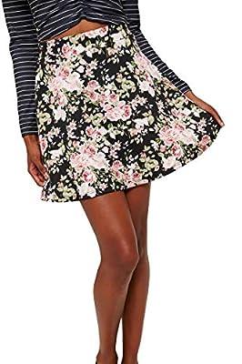 Ardene - Women's - Floral Ponte Mini Skirt