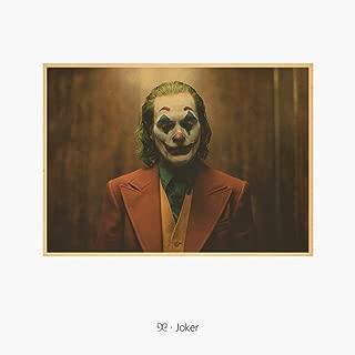 映画 JOKER ジョーカー ポスター 2019 ホアキン フェニックス ロバートデニーロ バットマン 42x29.7cm No.11