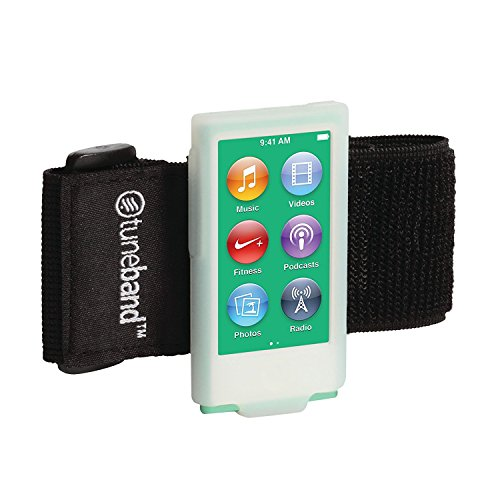 BLACK TuneBand for iPhone 7 Premium Sports Armband with Two Straps and Two Screen Protectors