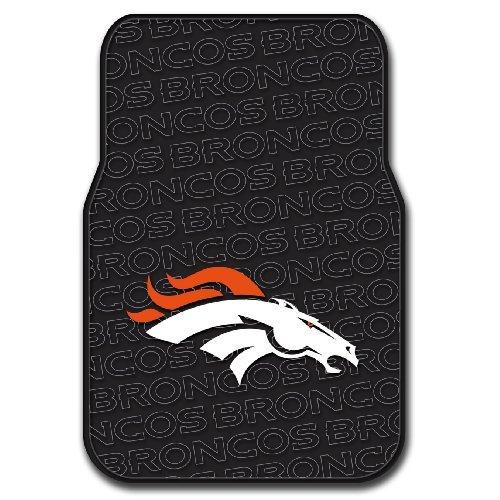 NFL Denver Broncos Car Floor Mat Set, 17