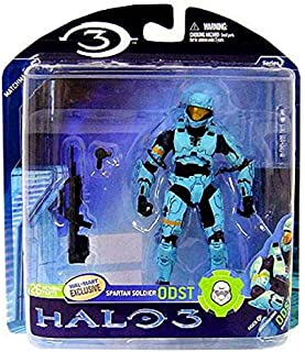 McFarlane Toys Halo 3 Series 2 Spartan Soldier ODST Exclusive Action Figure [Light Blue]