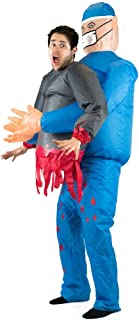 Bodysocks Adult Inflatable Doctor Fancy Dress Costume