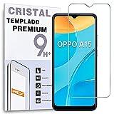 Protector de Pantalla para OPPO A15 - OPPO A15s - REALME C20, Cristal Vidrio Templado Premium