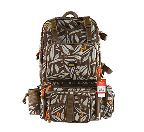 Kingdomfishing Multifunctional Fishing Backpack Tackle Bag Detachable Combination Lure Backpacks...