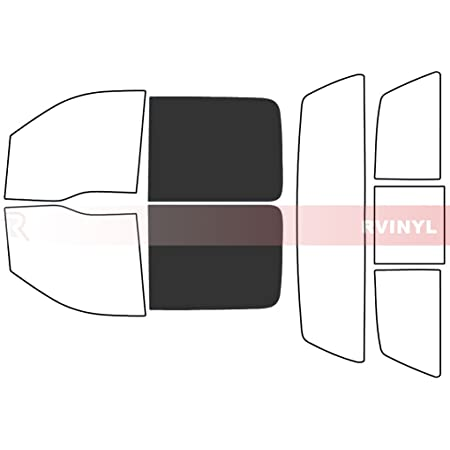 Rtint Window Tint Kit for Ford F-250 2008-2016 - Complete Kit 4 Door 5/%