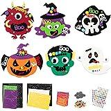 MALLMALL6 12Pcs Halloween Fridge Magnets...