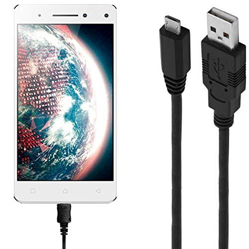 ASSMANN Ladekabel/Datenkabel kompatibel für Lenovo Vibe S1 Lite - schwarz - 1m