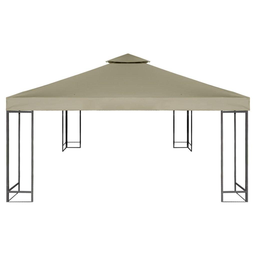 Toldo de Cenador de Repuesto Tela Impermeableo 310 g/m² 3x3m para ...