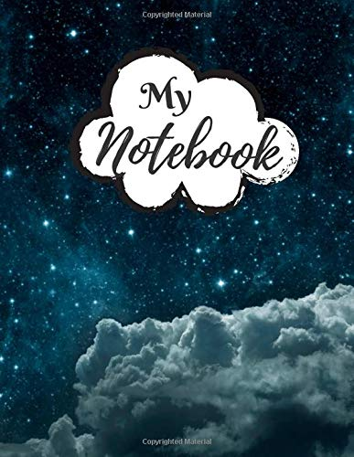 My Notebook: Password Book, Password Logbook and Internet Password Organizer, Alphabetical Password Book, Logbook To Protect Usernames - 120 Pages - ... inches) - Premium Space Galaxy Cover (Vol.18)