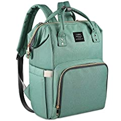🍀🍀The Perfect Carry-All: The Land backpack is a versatile, spacious bag that features a front zippered pocket, comfortable straps, and separated compartments as well as wide open design. Use the insulated front section to store baby bottles and take ...