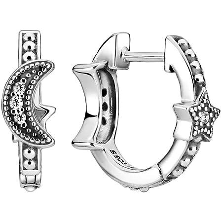 Pandora 299152C01 - Pendientes de plata de ley con circonitas cúbicas