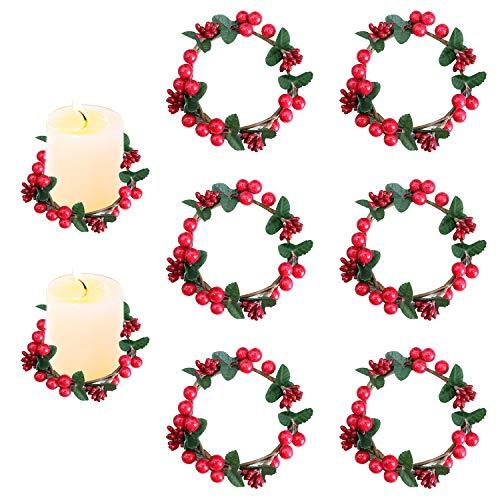 Vela Roja Navidad  marca Sirozi