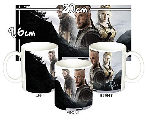 MasTazas Vikingos Vikings A Taza Mug
