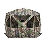 Barronett Blinds PT550BW Pentagon Pop Up Portable Hunting Blind, Bloodtrail Backwoods Camo