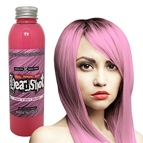 Pinke Haarfarbe Headshot Pink´s not dead, Semi-permanente Haartönung 150 ml
