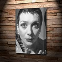 Jacqueline Pearce - Canvas Print (A5 - Signed by The Artist) #js001