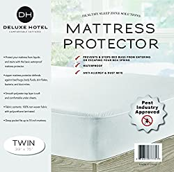 powerful Ultimate Bed Bug Blocker Zippered Waterproof Mattress Protector – 10 Year Warranty!
