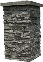 stacked stone column wraps
