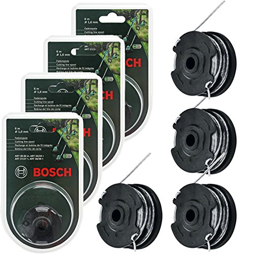 Bosch Fadenspule für Bosch Rasentrimmer Art. 24/27/30/30-36, 1,6 mm x 18 m