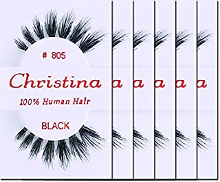 Christina Eyelashes 805 (6 Pack)