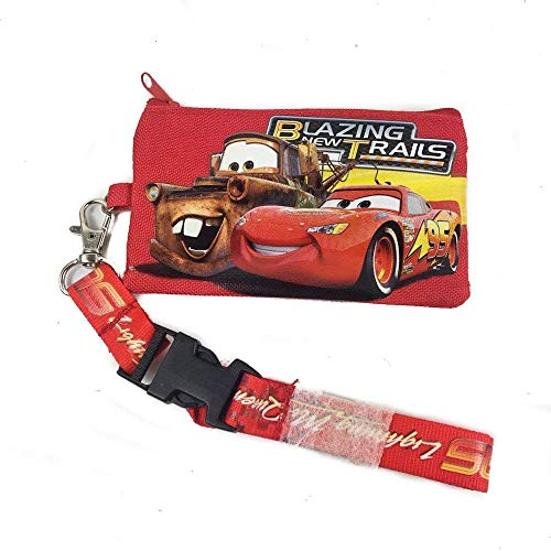 Disney Lanyard & ID Holders with Coin Purse (Blue Car)