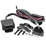 12V ATV Winch Rocker Switch with Handlebar Control line kit for ATV/UTV