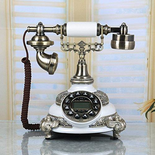 LXYFMS - Teléfono Fijo de Estilo Europeo