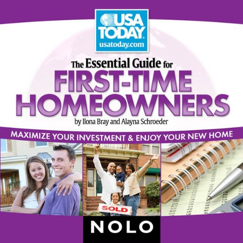 The Essential Guide for First Time Homeowners audiobook cover art