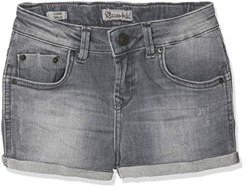 LTB Jeans LTB Jeans Mädchen Judie G Shorts, Grau (Elva Wash 51607), 140 (Herstellergröße: 10)
