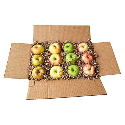 Farm Produce Direct, 12 Count Apple Sampler, with 3 Honey Crisp, 3 Braeburn, 3 granny smith, 3 Gala Orchard Fresh Apples