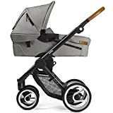 Mutsy Kinderwagen EVO - Urban Nomad light grey / black - Modell 2016
