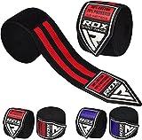 RDX Vendas Boxeo Cinta Elástico Mano Muñeca MMA 4,5 Metros Kick Boxing Envolturas Vendaje
