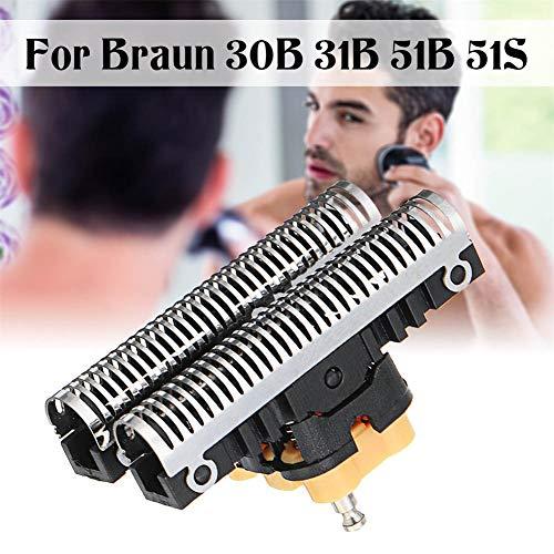 Suppyfly Shaving Head Razor Head Replacement Compatible Braun 5 Series 30B 31B 31S 51B 51S