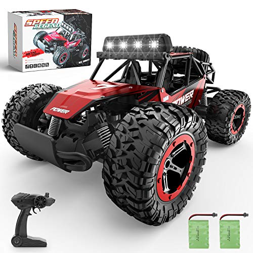 BEZGAR Remote Control Car, 1:14 Aluminium Alloy Off Road Large Size Kids High Speed Fast Racing...