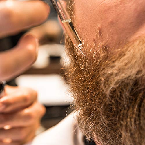 Aceite para barba Cremo, restaura la humedad, suaviza y reduce la picazón de la barba para todas...