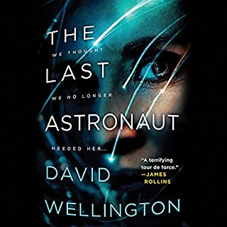 The Last Astronaut audiobook cover art