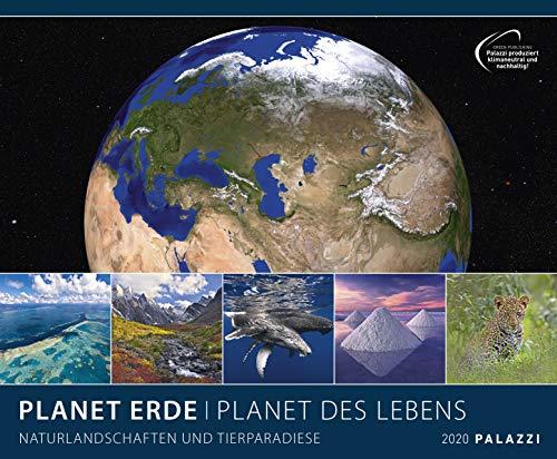 PLANET ERDE 2020: PLANET DES LEBENS - Landschaften - Tiere - Kalender Posterkalender, Wandkalender
