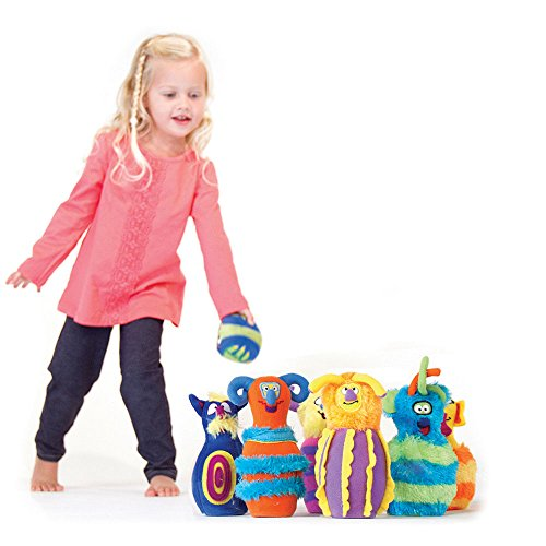 Monster Bowling , Plush Toys,...