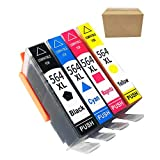 HP 564 Ink Cartridges Combo Pack XL Compatible for hp 3070A 3520 C309g C309n C310a 5510 C310b C310c C410a Printer